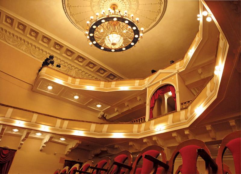 Фотография большого зала Курской филармонии