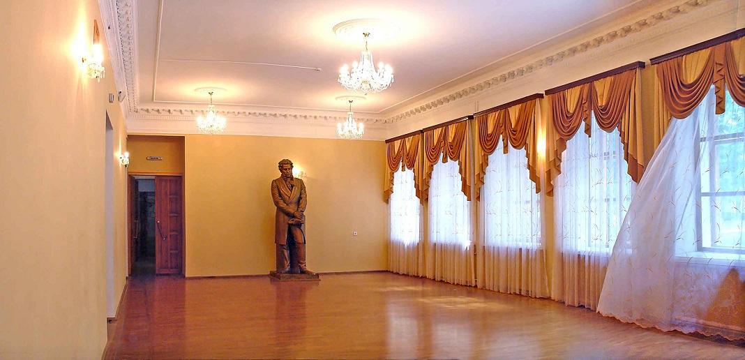 Фотография Пушкинского фойе Курской филармонии